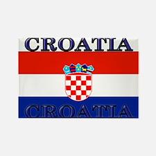 Croatia Croatian Flag Rectangle Magnet