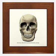 Cracked Skull Framed Tile