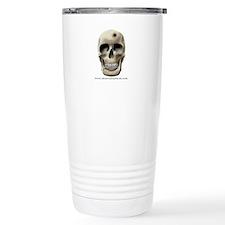 Skull & Bullet Hole Travel Mug