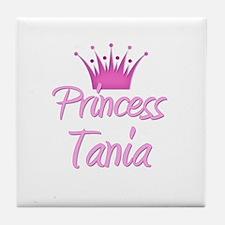 Princess Tania Tile Coaster