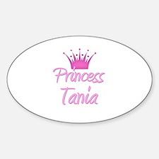 Princess Tania Oval Decal