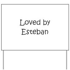 Unique Esteban Yard Sign