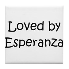 Cute Esperanza Tile Coaster