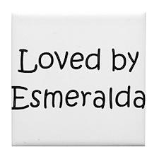 Funny Esmeralda Tile Coaster