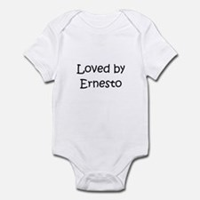 Cute Ernesto name Infant Bodysuit
