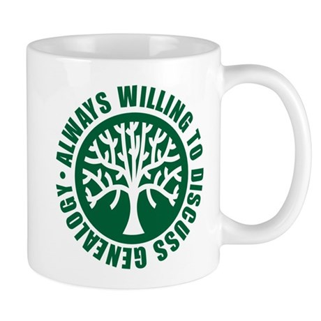 Always Willing Mug