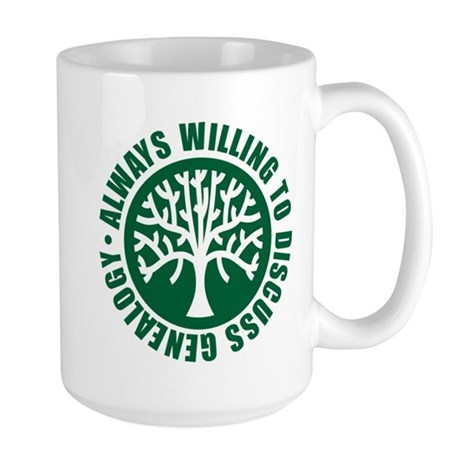 Always Willing Large Mug