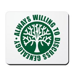Always Willing Mousepad