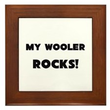 MY Wooler ROCKS! Framed Tile