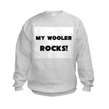 MY Wooler ROCKS! Kids Sweatshirt
