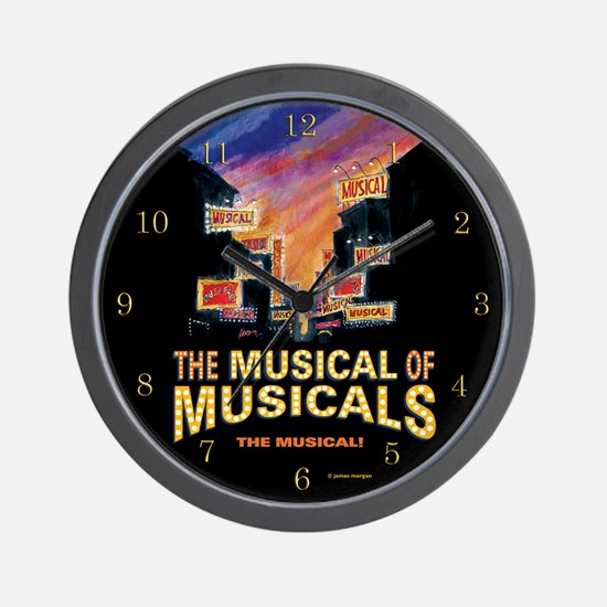 THE MUSICAL OF MUSICALS (THE MUSICAL!) WALL CLOCK