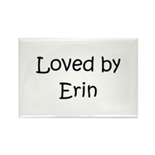 Cute Erin name Rectangle Magnet
