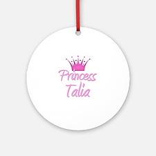 Princess Talia Ornament (Round)