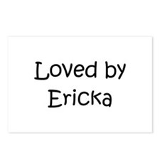 Cute Ericka Postcards (Package of 8)