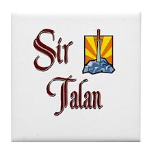 Sir Talan Tile Coaster