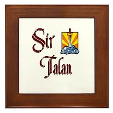 Sir Talan Framed Tile