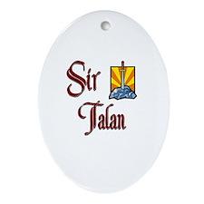 Sir Talan Oval Ornament