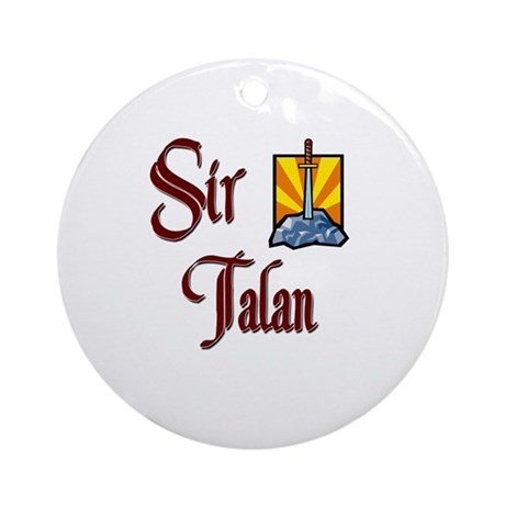 Sir Talan Ornament (Round)