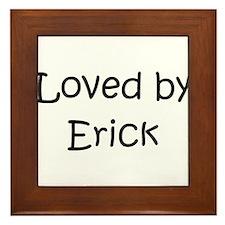 Cute Erick Framed Tile