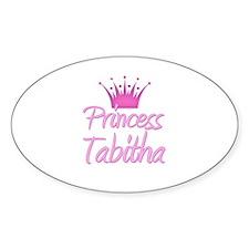 Princess Tabitha Oval Decal