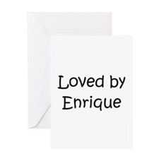 Cool Enrique's Greeting Card