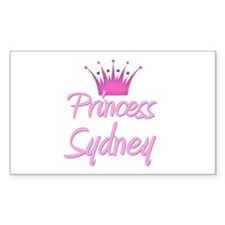 Princess Sydney Rectangle Decal
