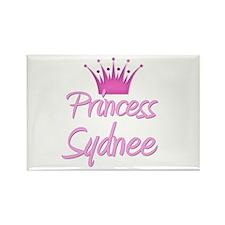Princess Sydnee Rectangle Magnet