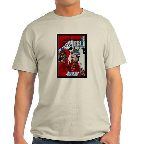 Samurai Honor Code Ash Grey T-Shirt
