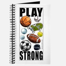 All Sports Play Strong Journal