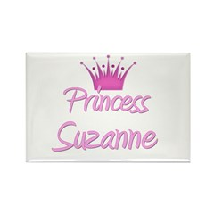 Princess Suzanne Rectangle Magnet (10 pack)