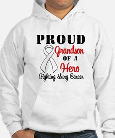 ProudGrandsonLungCancer Hero Jumper Hoody