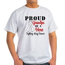 ProudGrandpaLungCancer Hero T-Shirt
