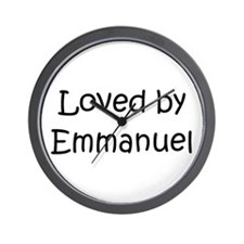 Cool Emmanuel Wall Clock