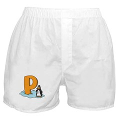 P is for Penguin Boxer Shorts