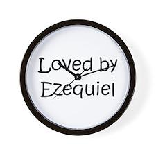 Cute Ezequiel Wall Clock
