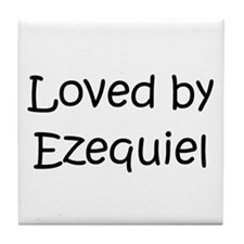 Cute Ezequiel Tile Coaster