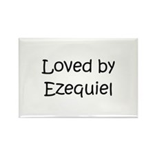 Cute Ezequiel Rectangle Magnet (100 pack)