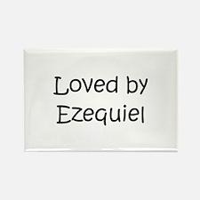 Funny Ezequiel Rectangle Magnet