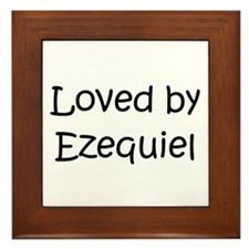 Cool Ezequiel Framed Tile