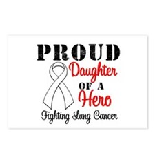 ProudDaughterLungCancer Hero Postcards (Package of