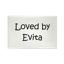 Cute Evita Rectangle Magnet