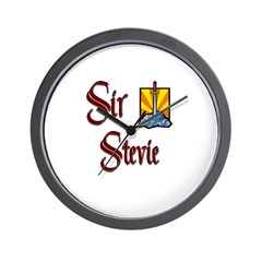 Sir Stevie Wall Clock