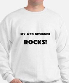MY Web Designer ROCKS! Sweatshirt