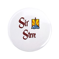 "Sir Steve 3.5"" Button"