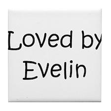 Cool Evelin Tile Coaster