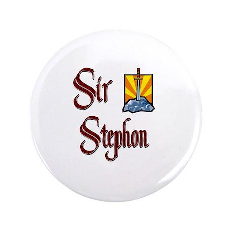 "Sir Stephon 3.5"" Button"