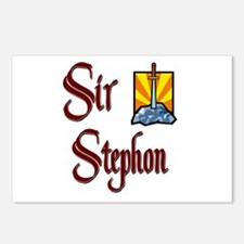 Sir Stephon Postcards (Package of 8)