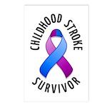 Childhood Stroke Survivor Postcards (Package of 8)