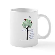 Social Workers Care Mug