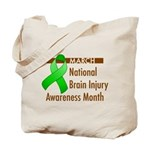 Brain Injury Month Tote Bag